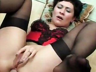 Russian mom anal sex