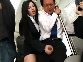 Femdom handjob machine anal post height
