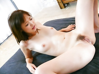 Momoka Rin tries stiff bushwa in dirty hardcore scenes