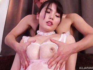 Hot ass Japanese girl Nogi Chiharu enjoys getting pleasured