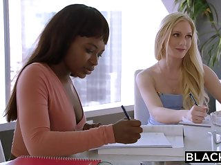 Assistant emma starletto's interracial experience w boss