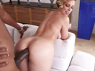 Chubby black cock anal
