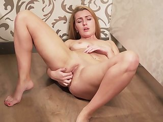 Prospect haired augmentation naughty bitch is happy to work in the sky her wet pussy
