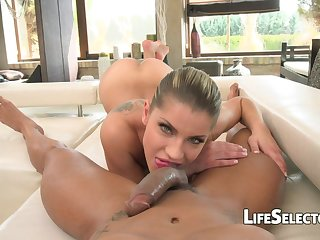 Diverting Russian Cutie Angel Rivas Loves Tush Fucking