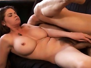 Muted cunt big boobs riding