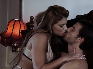 Smoking hot paramour Mercedes Carrera is having crazy sex fun with her new boyfriend