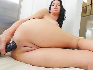 Milf masturbation anal