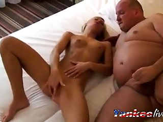Kira meet chum around with annoy needs Fat Daddy