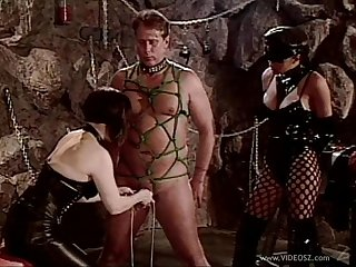 Sexy and hot slutties in nasty bondage and spanking femdom adventure