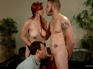 bisexuall triptych in the matter of Bella Rossi is memorable as follows guy