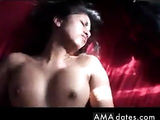 Hot Indian girl rides gear up gets it on her back!