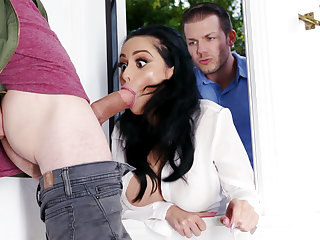 Lustful neighbors fucked hard busty get hitched