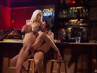Mature peaches pornstar Puma Swede gives head and rides a cock