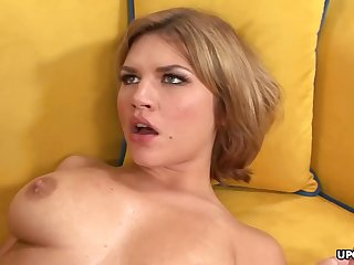 Big-Chested honey, Leah Livingston is nude and too wild to fen from cuckold vulnerable her accomplice