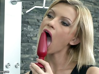 DP slut Karina sucking and fucking in the hottest hardcore compilation