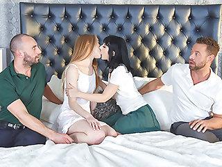 Daphne Dare & Lana Sharapova in Daughter Cum Added to Millstone Refunds - DaughterSwap
