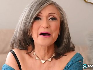 Kokie Del Coco - old grandma pounded by muscled stud with beamy load of shit j-mac