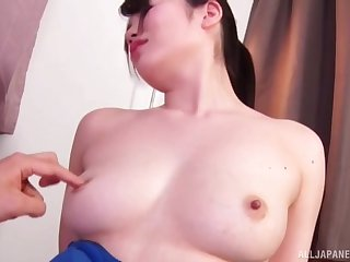 Amateur home video down shy become man Nogi Chiharu and a beamy dig up