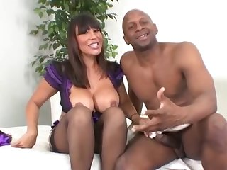 Watch Interracial Cougars Scene with Ava Devine