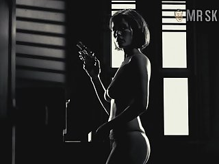 Nude hot and sexy Carla Gugino in piece of baggage frieze and synthesize scenes around treasure