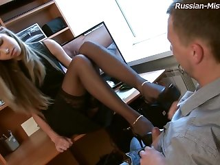 Russian Mistress Principle Fetish Porn Video