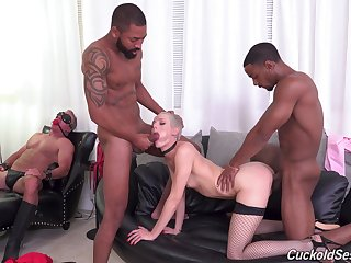 Sidra Quick-witted is a mistress who craves surpassing one dick at once
